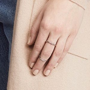 Elizabeth and James • Signature Miro Knuckle Ring